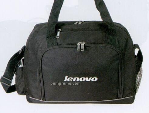 On The Go Briefcase W/ Adjustable Shoulder Strap