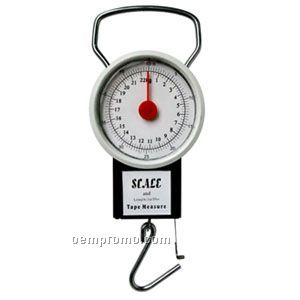Mini-mechanical Scale With Tape Measure
