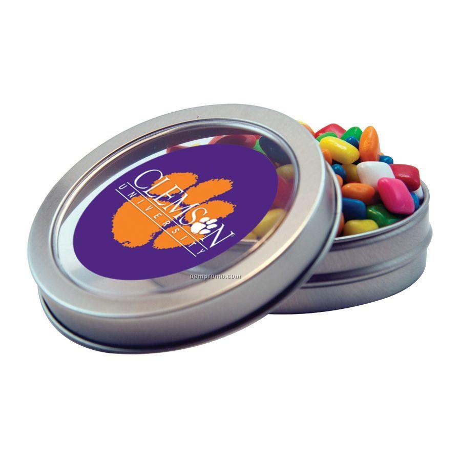 Short Round Tin With Gum