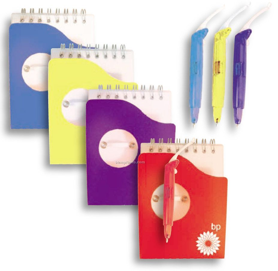 Translucent Notebook With Pen