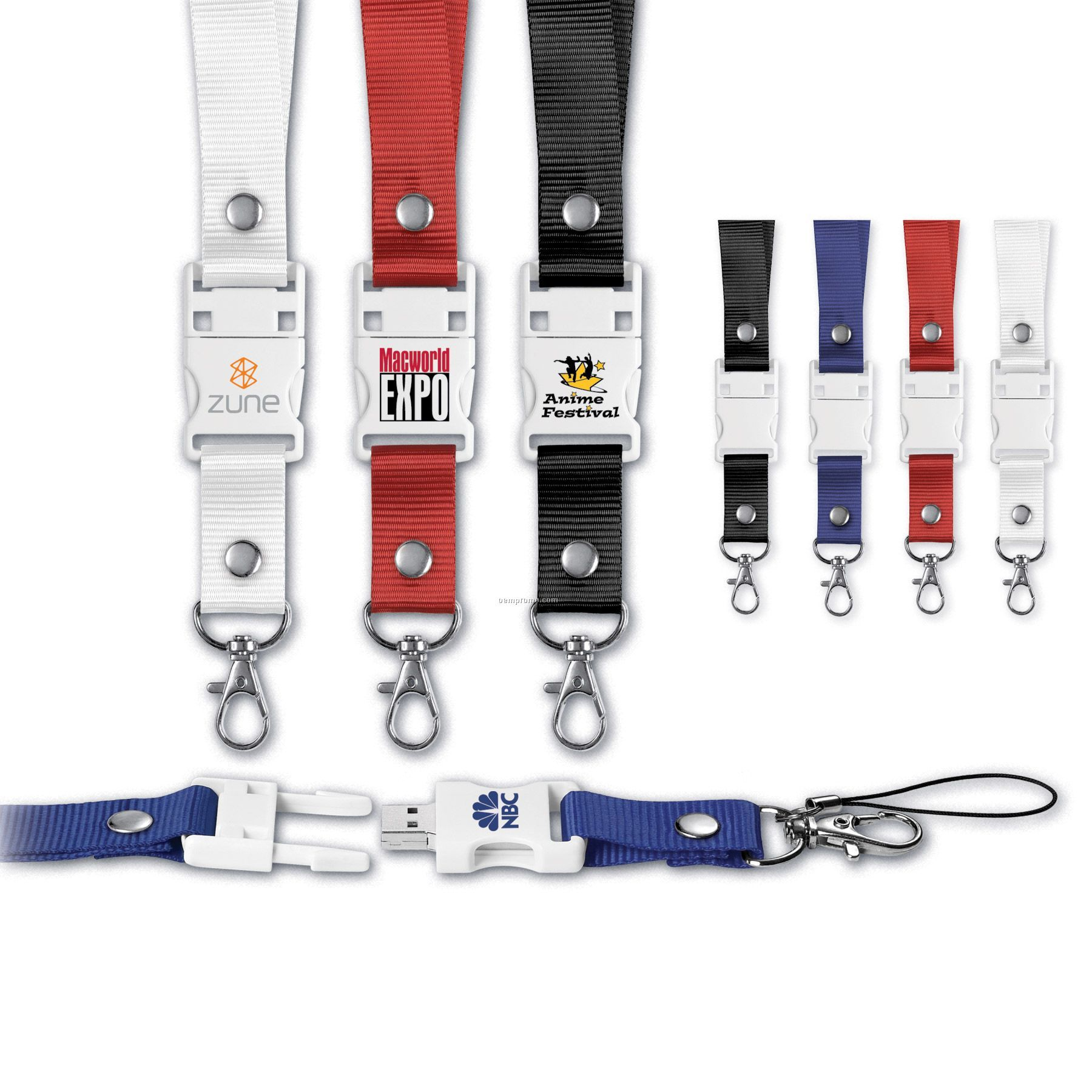 USB 2.0 Lanyard Flash Drive Ld
