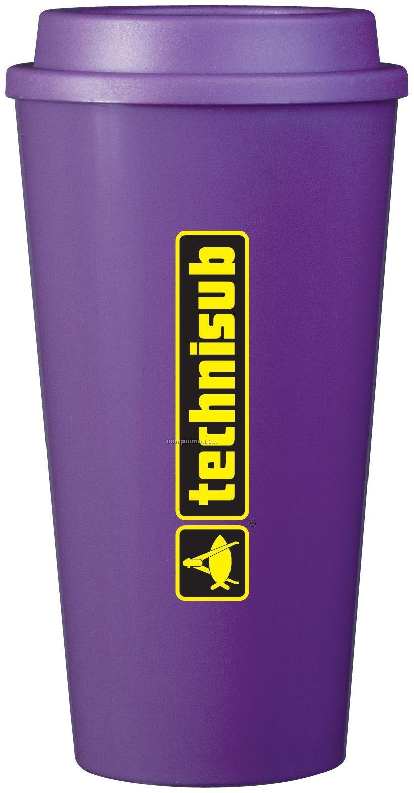 16 Oz. Purple Plastic Cup2go Cup