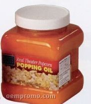16 Oz. Real Theater Coconut Popping Oil