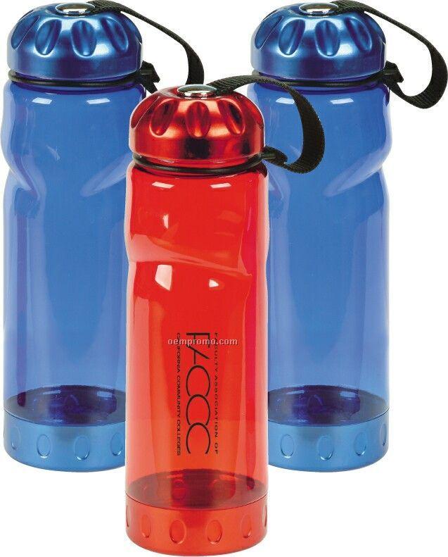 26 Oz. Plastic Petg Bottle W/ Aluminum Cap