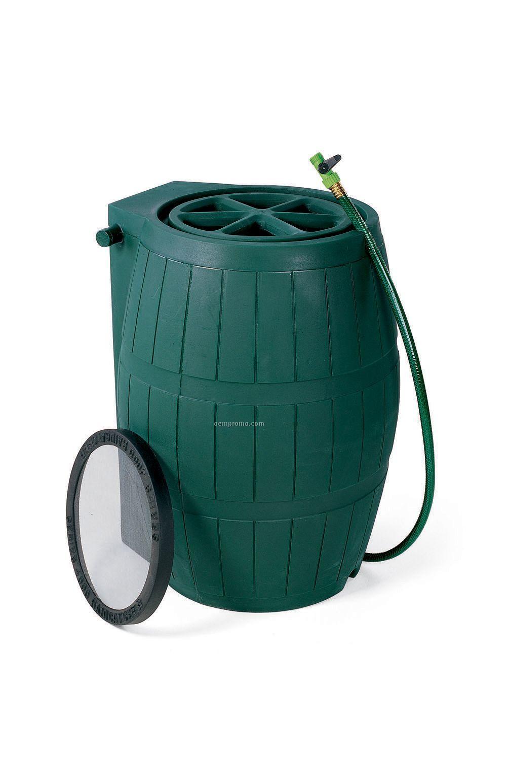 Achla Green Rain Barrel
