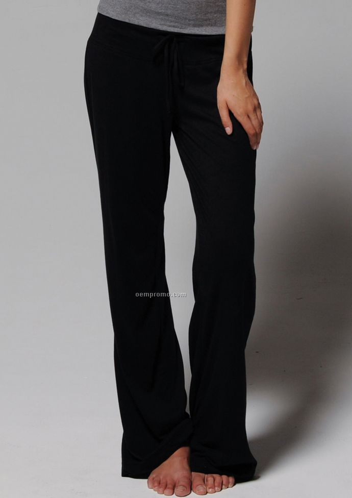 Bella Ladies' Hannah Vintage Jersey Lounge Pant
