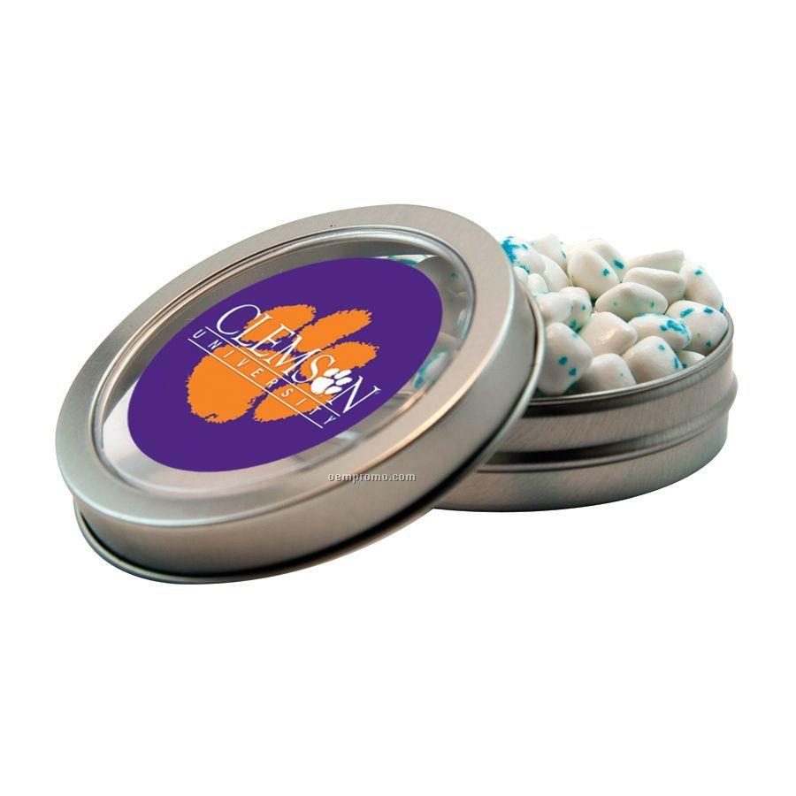 Short Round Tin With Sugar Free Gum