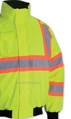Class III Waterproof Hi-vis Federal Highway Jacket