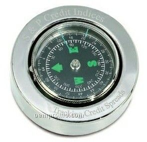 Vip Silver Compass Paperweight