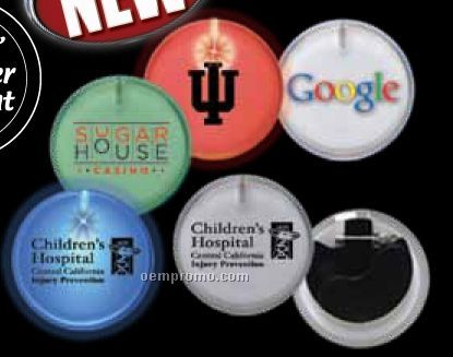 Promotional Round lighted badges
