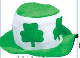 Felt St. Patrick's Day Hat