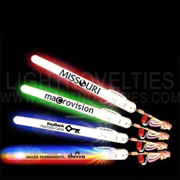 Light up wand stick w lanyard multi led china wholesale for Led wands wholesale