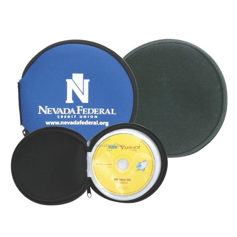 Neoprene Cover 12 Disc CD Holder