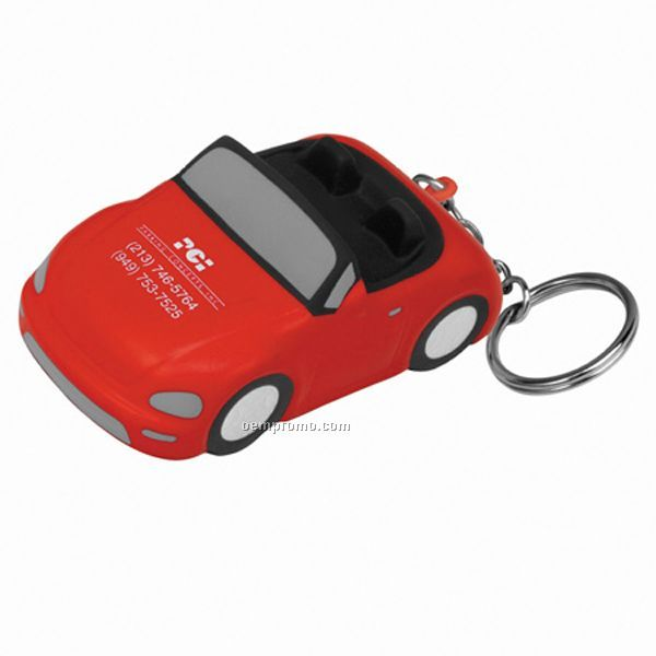 Convertible Car Key Chain Squeeze Toy