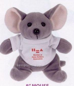 Laying Mouse Beanie Stuffed Animal