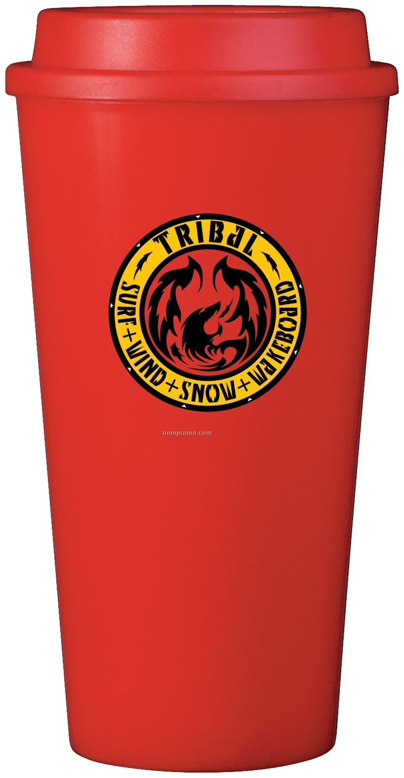 16 Oz. Red Plastic Cup2go Cup