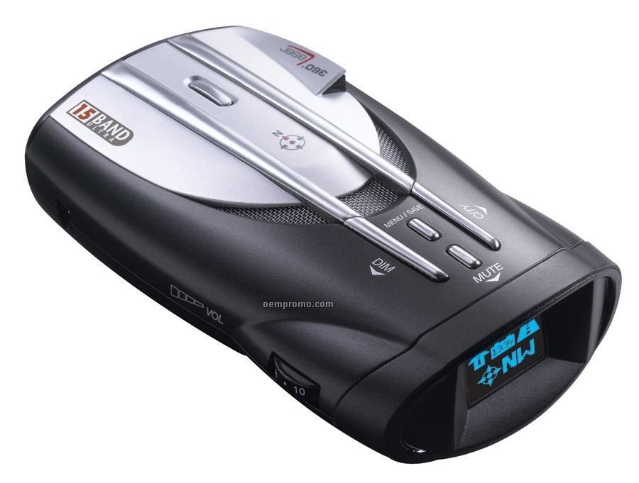 Ultra Performance Digital Radar/ Laser Detector W/ Datagrafix