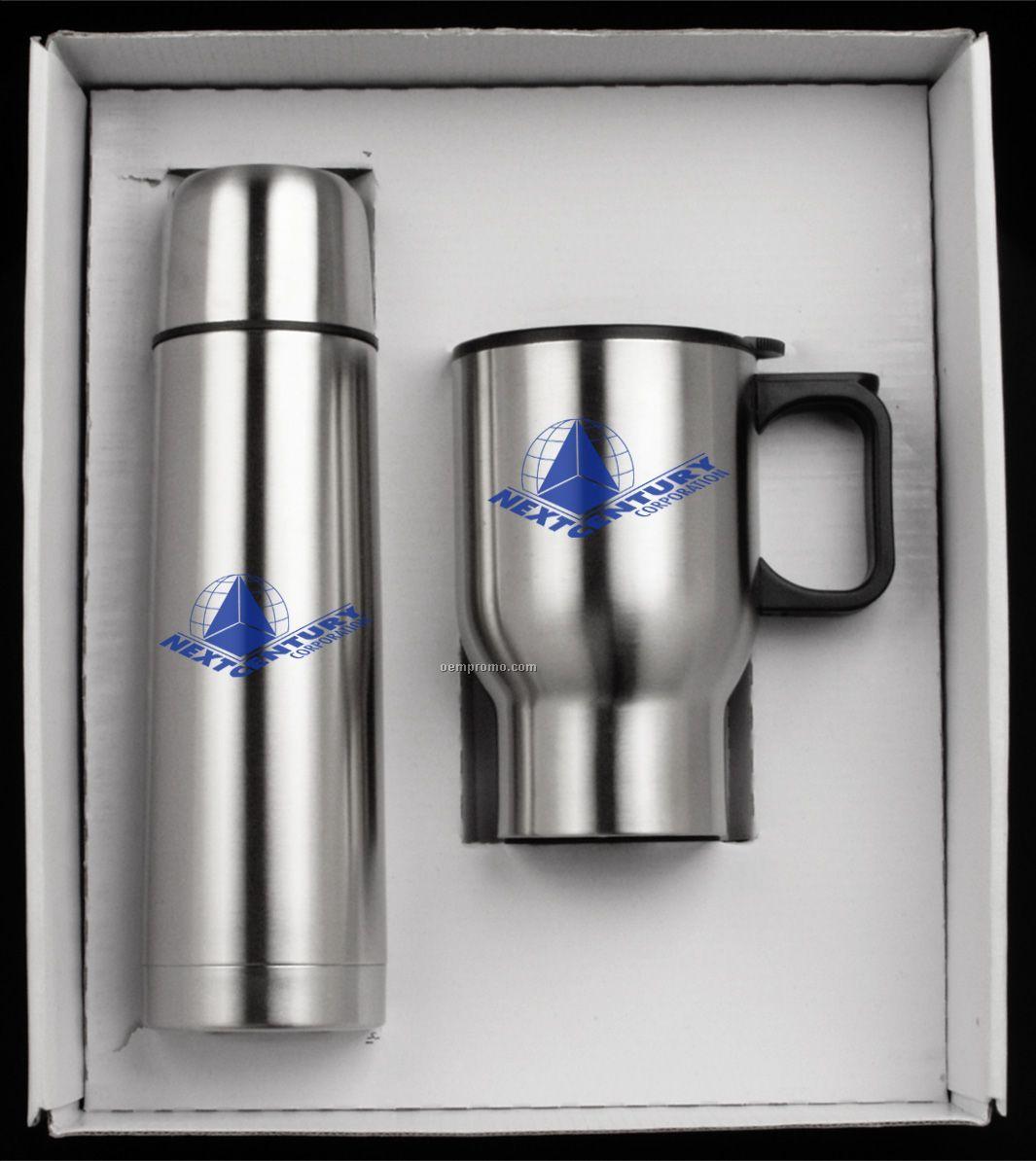 2 Piece Steel City Mug Set