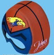 Foam Full Color Basketball Rally Helmet