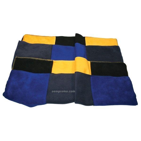 Youth Fleece Scarves W/ Contrast Pocket