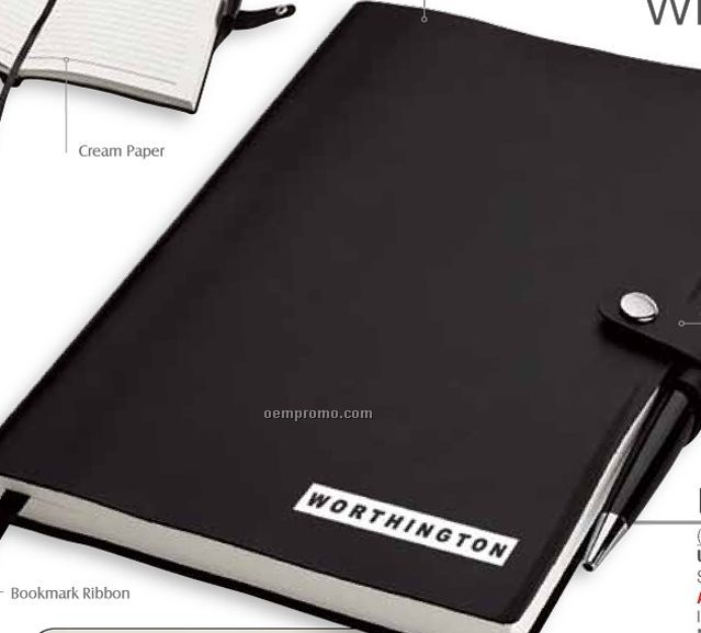 Junior Size Journal W A5 Notebook With Pen Holder China