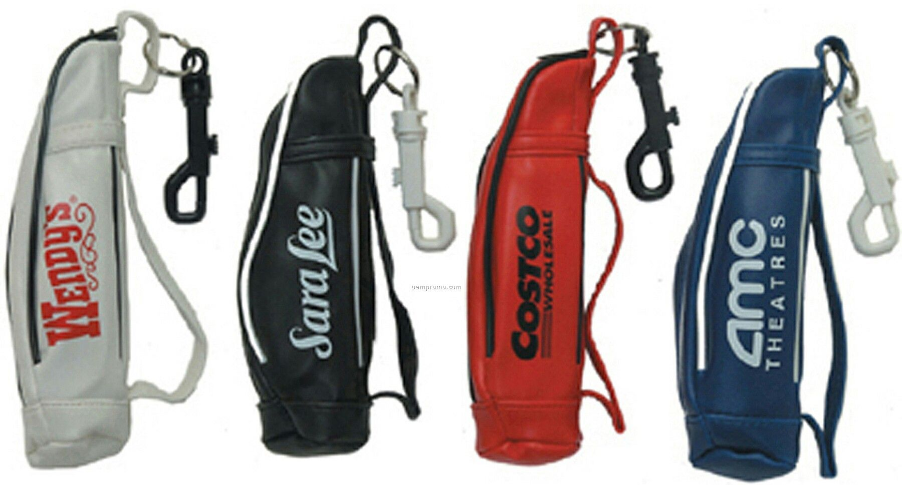 Mini Golf Bag, Holds Up To Three Golf Balls--7 Day Production