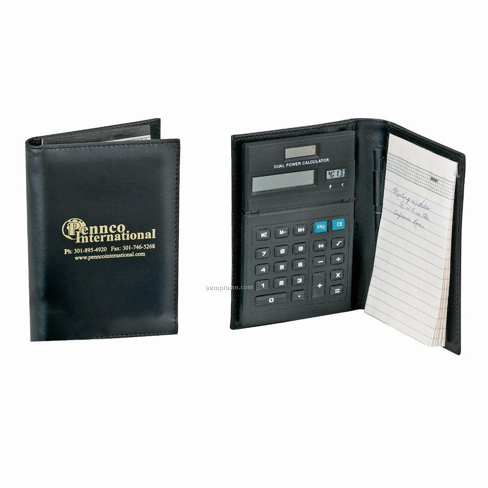 Portfolio Calculator With Clock