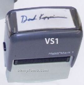 "Self Inking Stamp - 9/16""X1 1/2"" Imprint Area"
