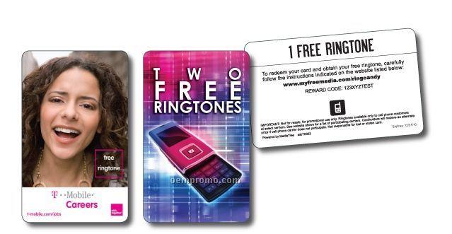 5 Ringtones Card