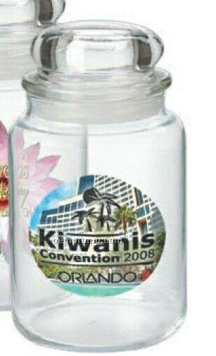 Country Kitchen Jar W/ Decal (26 Oz.)