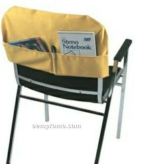 Fitted Chair Back Cover W/ Back Pockets