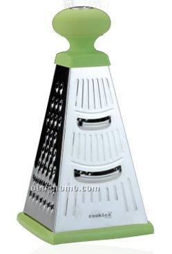 "4 Sided Grater W/ Round Handle (9"")"