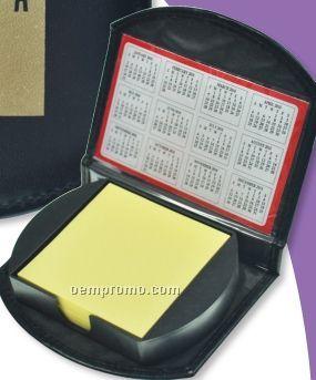 Executive Sticky Note Holder W/ 2 Year Calendar