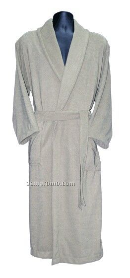 Ladies Lounge-about Microfiber Terry House Coat (2xs-2xl)