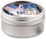 Patriotic Klips Stock Design Paper Clips And Tin