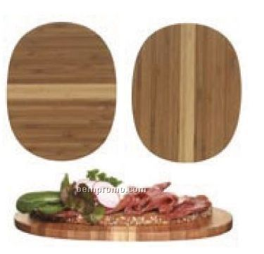 Bamboo Serving Plates - 2 Pack