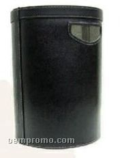 Executive Cowhide Office Dust Bin
