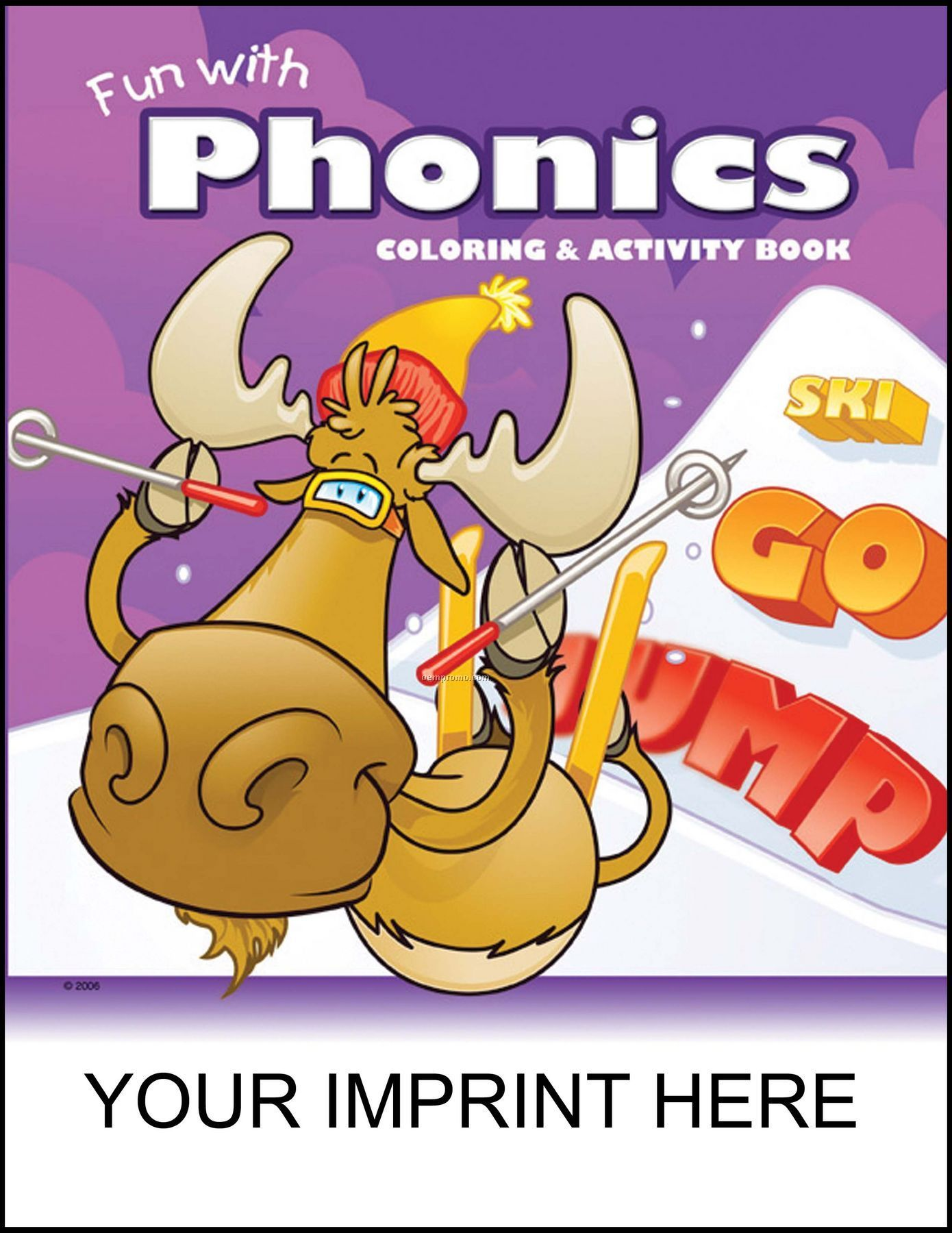 Fun With Phonics Coloring & Activity Book