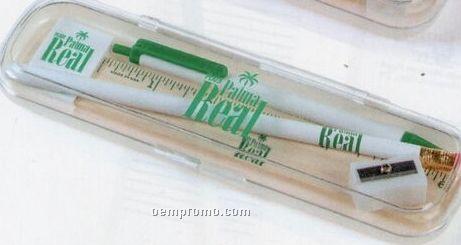 Klear Vu Pen & Pencil Case