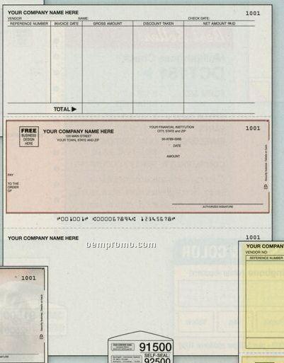 Laser Accounts Payable Check - Accpac Compatible (2 Part)