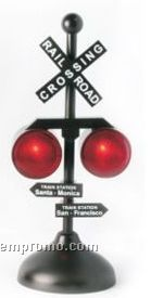 Mini Railroad Signal Battery Operated