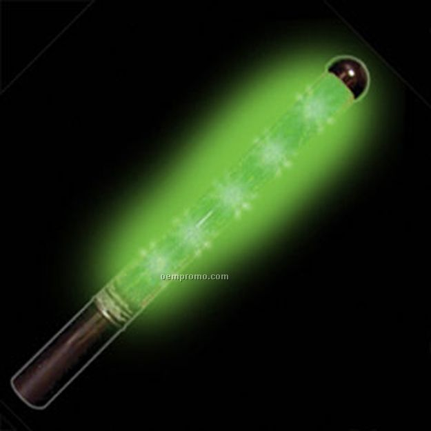"12"" Green Light Up Wand"