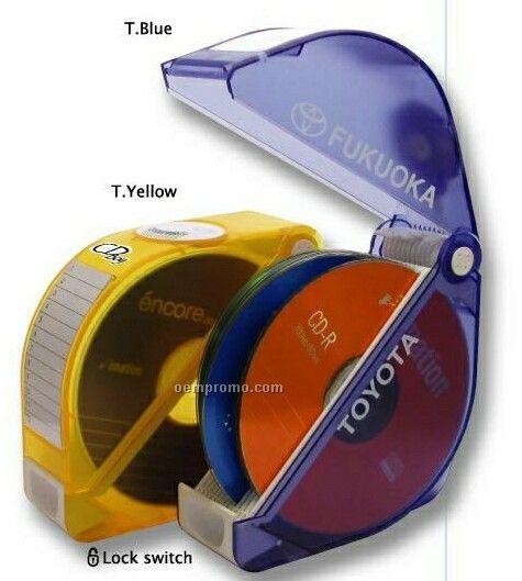 Choose & Raise 12 CD/ DVD Holder