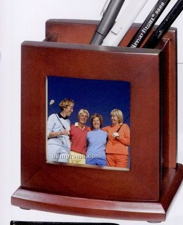 Pen Holder W Photo Frame China Wholesale Pen Holder W