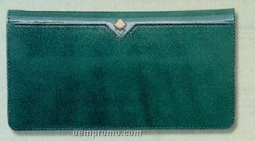 Green Leather Checkbook Cover China Wholesale Green