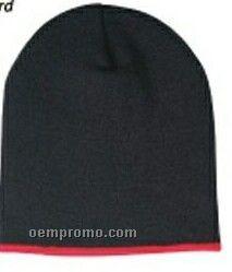 Winter Trim Beanie Cap (One Size Fits Most)