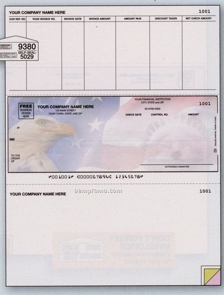 Laser Accounts Payable Check (2 Part)