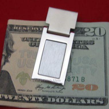 Metal Spring Hinged Money Clip(Screen Printed)