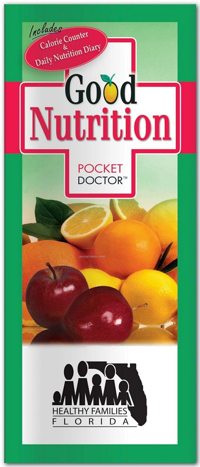 Pillowline Good Nutrition Pocket Doctor Brochure