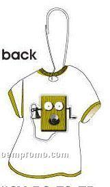 Wind Up Box Phone T-shirt Zipper Pull